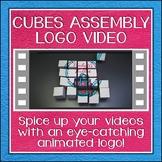 Logo Button 1 Cubes Video Intro
