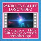 Logo Button 14 Particles Collide Video Intro
