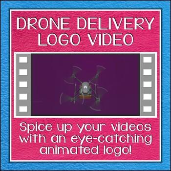 Logo Button 15 Drone Delivery Video Intro