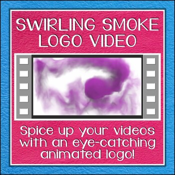 Logo Button 2 Swirling Smoke Video Intro