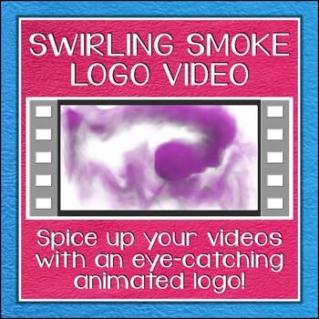 Logo Button 2 Swirling Smoke Video Intro