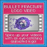 Logo Button 4 Bullet Fracture Video Intro