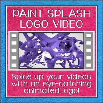 Logo Button 6 Paint Splash Video Intro