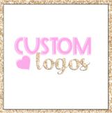 Custom Logo Design | Teacher Logos | Instagram Logo | Tpt