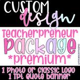 Custom Logo Design |Teacher/Educator Logo | Instagram/Tpt