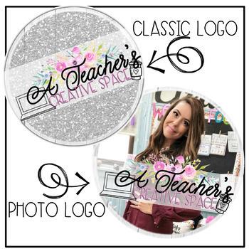 Teacher/Educator Logos | Custom Logos | Instagram/Tpt Logo | Standard Package