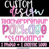 Logo Custom Design   Instagram/Tpt Logo   Branding Logo  