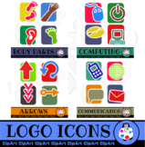 Logo Icons Variety Bundle - Mega Pack Clip Art