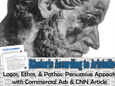 Logos, Ethos, & Pathos: The Persuasive Appeals: Introduction & Activity