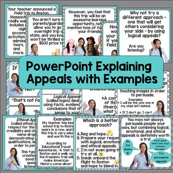 ethos persuasion examples