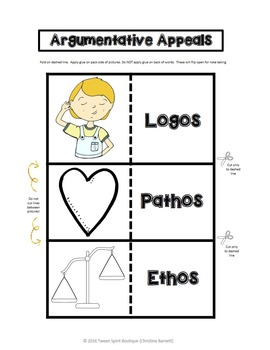 Logos, Pathos, Ethos: Argumentative Appeals for Interactive Notebooks!