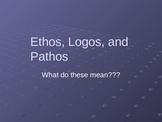Logos, Pathos, Ethos PowerPoint