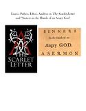 Editable Logos Pathos Ethos, Scarlet Letter/Sinners in the
