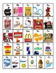 Logos and Brands Alphabet Chart
