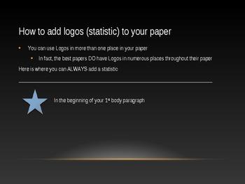 Logos in persuasive writing