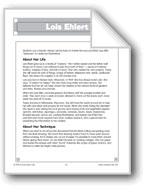 Lois Ehlert (Author and Illustrator)