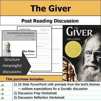 Lois Lowry Literature Unit - The Giver and Number the Stars