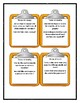 Lois Lowry NUMBER THE STARS - THEME Discussion Cards