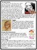Lois Lowry Reading Comprehension Worksheet, Bio, ?'s, author of The Giver