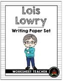 Lois Lowry Writing Paper Set