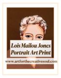 Lois Mailou Jones Portrait Art Print