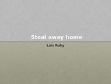 Lois Ruby: Steal Away Home: Introduction