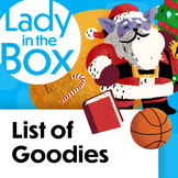 Lola Claus' List of Goodies- Boom Cards