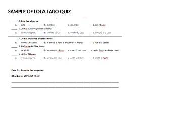 Lola Lago Literature/Book Circle