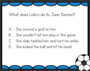 Lola Levine is Not Mean: Comprehension Task Cards