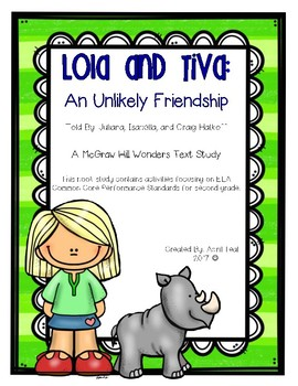 Lola and Tiva: An Unlikely Friendship Book Study