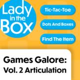 Lola's Games Galore: Volume 2- Boom Cards