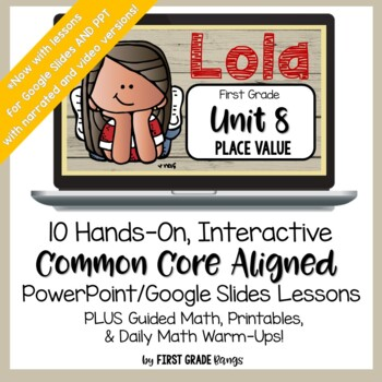 Lola's Guided Math Lessons for Place Value