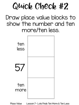 Place Value Guided Math Lessons and Daily Printables with Lola