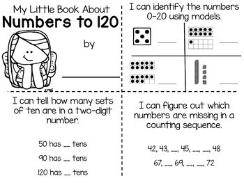 Lola's Math Centers Numbers to 120