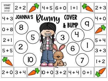 Lola's Math Centers for Addition to 10