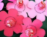 Loli Pop Flower Template Valentines day