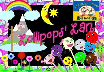 Lollipops' Land Clipart