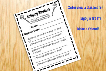 Lollipop Buddies Classmate Interview