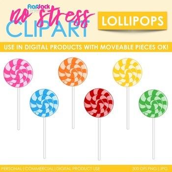 Lollipop Clip Art (Digital Use Ok!)