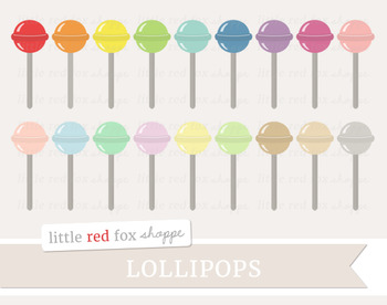 Lollipop Clipart; Candy