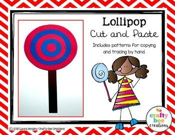 Lollipop Cut and Paste
