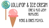 Lollipop & Ice Cream Tens and Ones Match