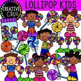 Lollipop Kids {Creative Clips Clipart}
