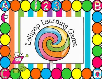 Lollipop Learning Game