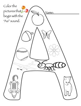 Letters A and B Printables
