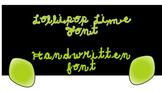 Lollipop Lime Font