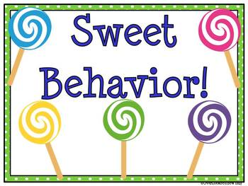 Lollipop, Lollipop! Behavior Clip Chart