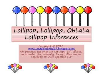 Lollipop, Lollipop Inferences FREEBIE