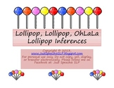 Lollipop, Lollipop Inferences FREEBIE