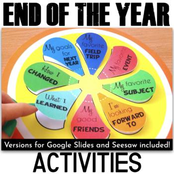 End of the Year Activities - Lollipop Memories